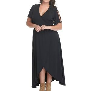 Tart Black Nolan Maxi Dress